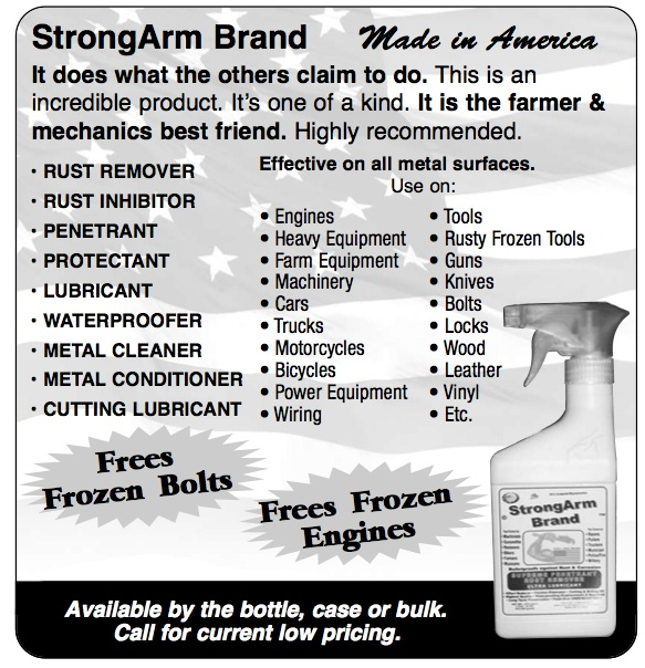 StrongArm Brand Best Cutting Drilling Lube on the Planet
